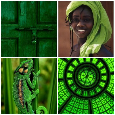 Color Palette: Decorating With Green Glorious Green