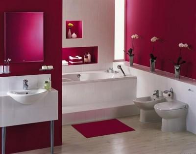 Pink bathroom Felicia Neguleanu-Fala