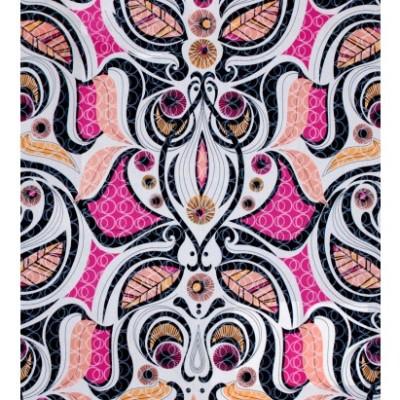 Pink mood fabric