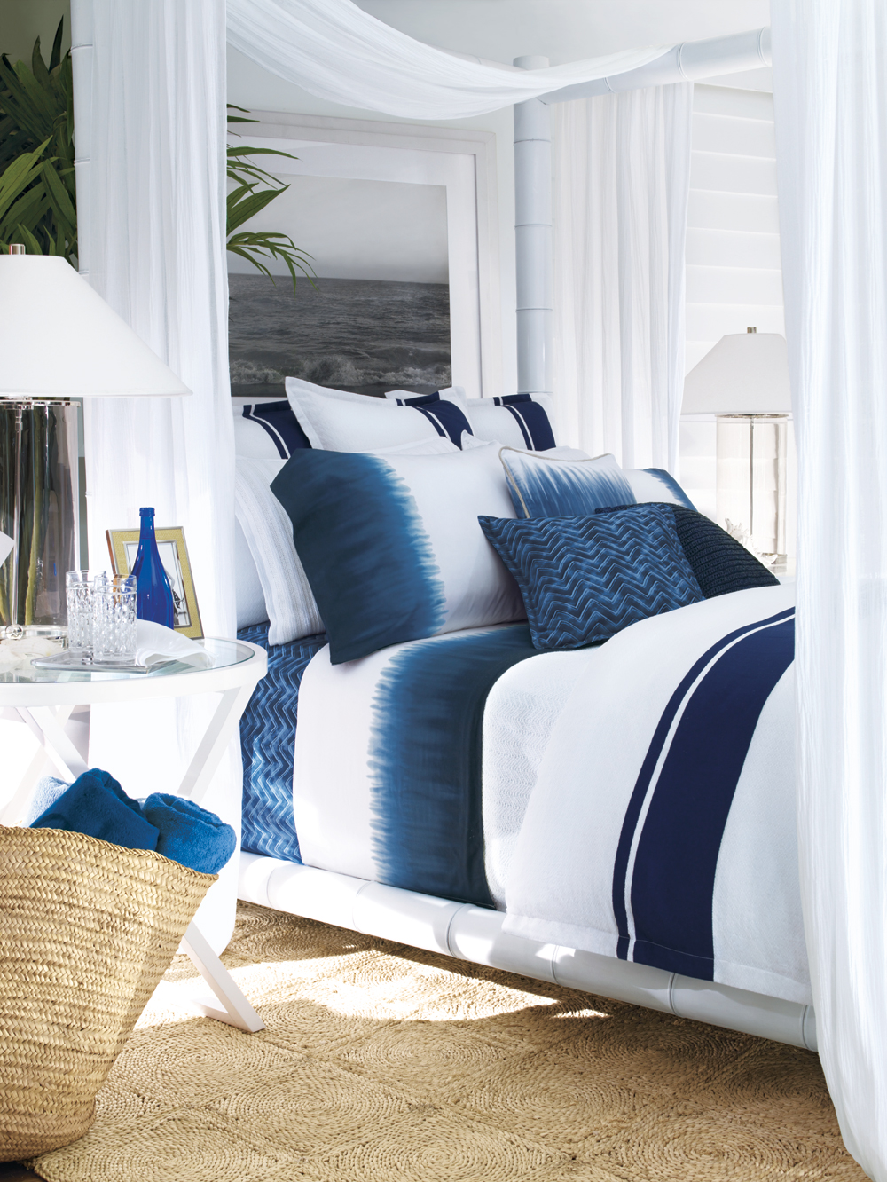 Ralph-Lauren-Indigo-bedding - Splendid Habitat - Interior design and ...
