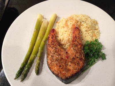 Quick and Savory Baked Salmon