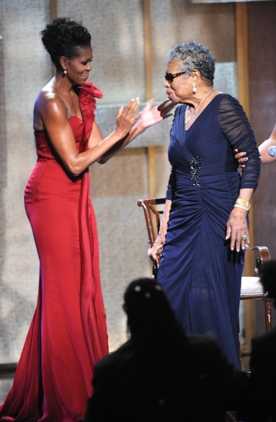 Michelle Obama,Maya Angelou