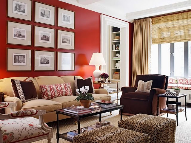 Livingroom Leopard And Red Kelly Robson