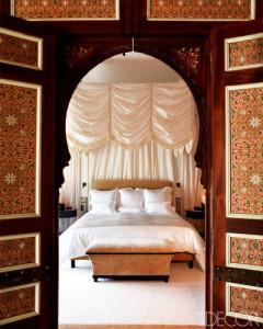 La Mamounia hotel bedroom