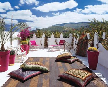 Liza Bruce terrace