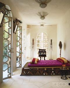 Liza Bruce bedroom