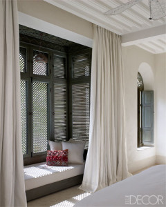 Philomenia Merckoll bedroom Marrakech