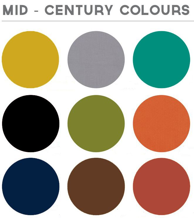 Mid century modern colors for Mid century modern exterior paint colors