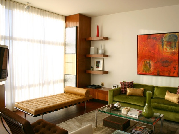 Mid century modern style the architecture of ideas part 2 for 1950s modern living room