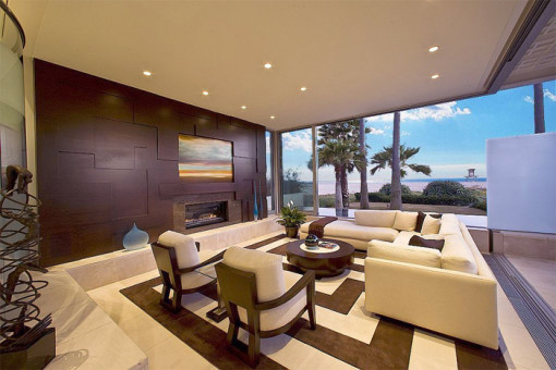 Living Room Designed By Michel Boyd Of SmithBoyd Interiors In Atlanta