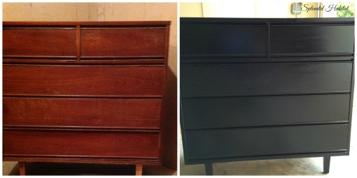 From Drab to Fab – Transforming A Dresser with Paint