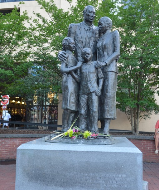 Freed Slaves Statue - River St