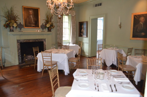 Olde Pink House dining