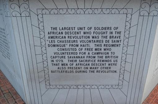 Rev War Haitian Soldiers Explanation