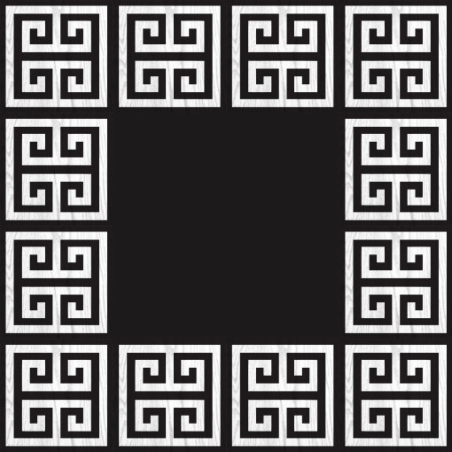 Greek Key Rug Black And White Rugs Ideas