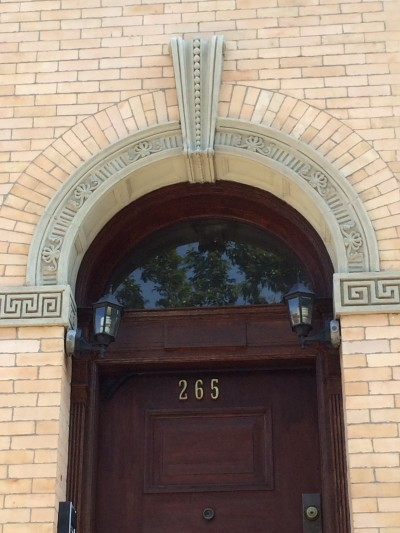 Architectural details Strivers Row