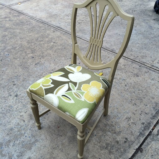 From Drab To Fab: My DIY Chalk Paint Chair