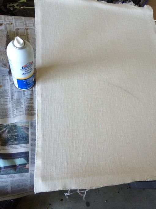 Pottery Barn Hack Create Your Own Fabric Pinboard