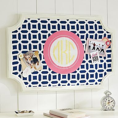 Pottery Barn Hack – Create Your Own Fabric Pinboard