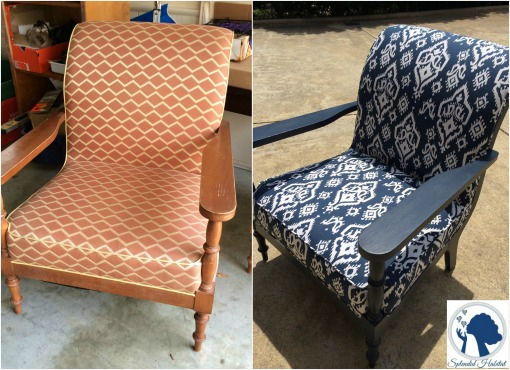 From Drab to Fab: Lounge Chair Makeover