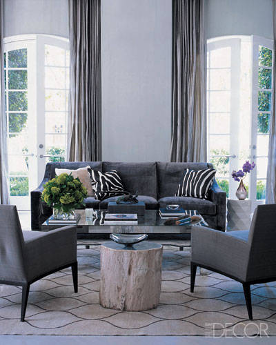 Color palette mastering the mood of decorating with grey Shades of gray for living room