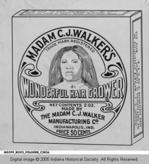 Madame CJ Walker ointment