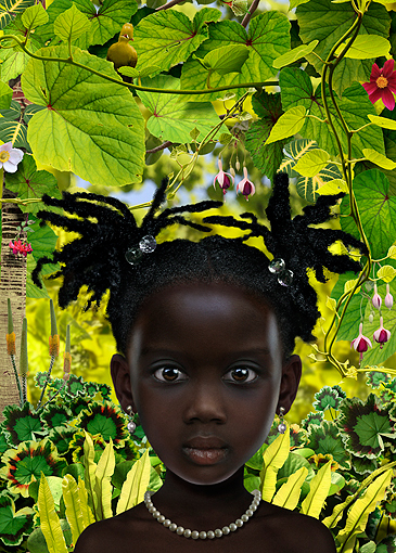 World-29 girl in red Ruud Van Empel