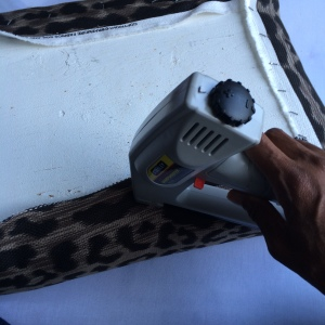leapard ottman cushion