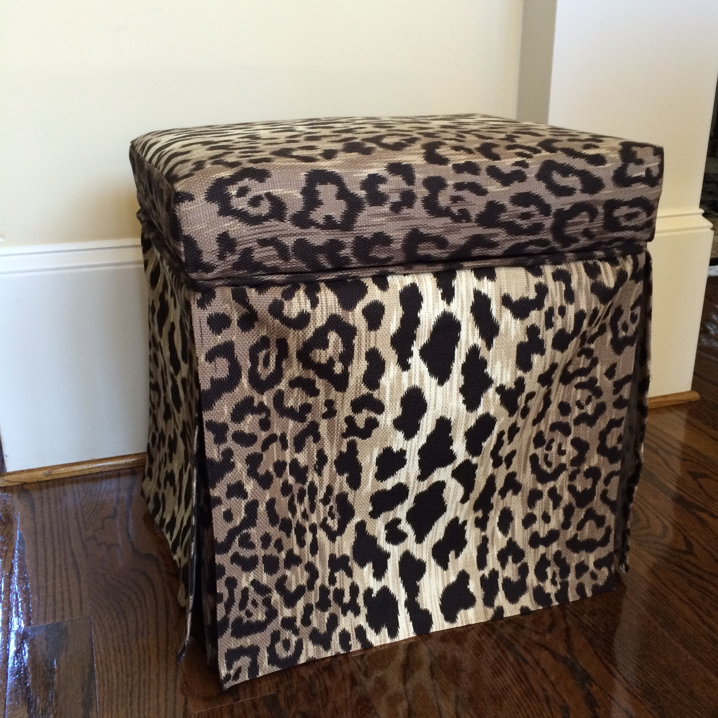 Leopard Ottoman Archives Splendid Habitat Interior Design And