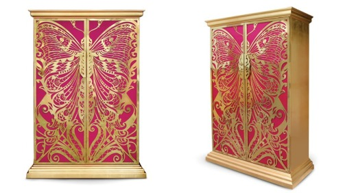 A Design Indulgence In Girly Glamourous Furniture