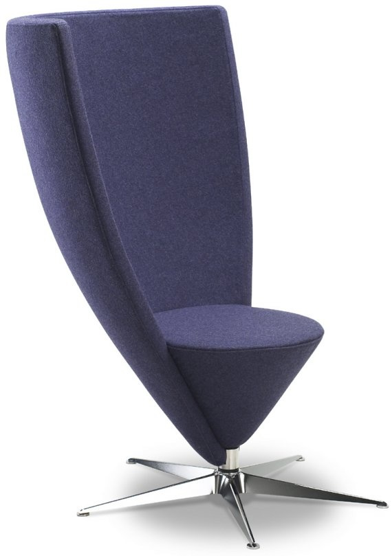 finest conoid swivel chair by bjarke nielsen with tall wing chair