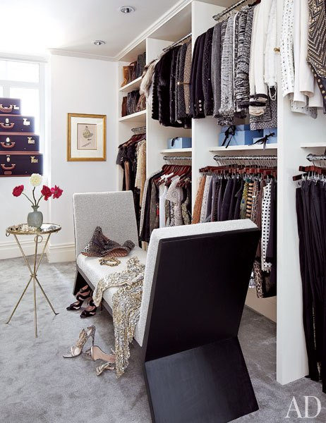 stylish closet of Nina Garcia