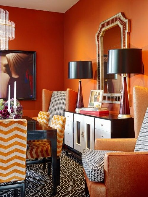 orange decor and fashion Archives - Splendid Habitat - Interior ...