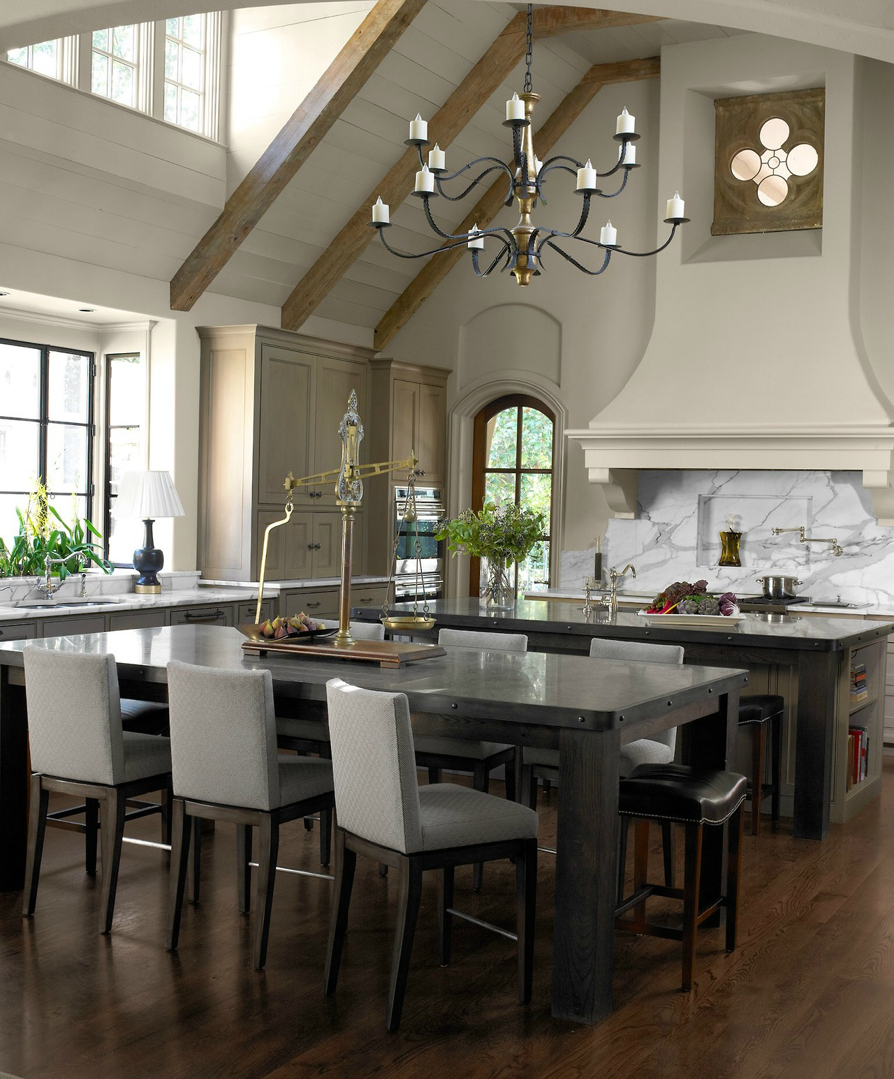 an calm and elegant kitchen by robert brown interiors