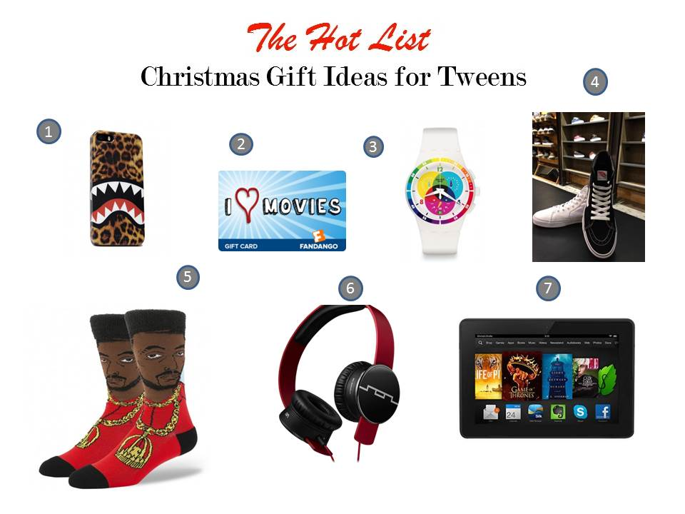 Hot List Xmas 2014 - Tweens