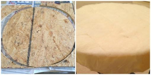 Wood & foam for stool