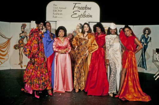 Ebony Fashion Fair Models w Eunice Johnson