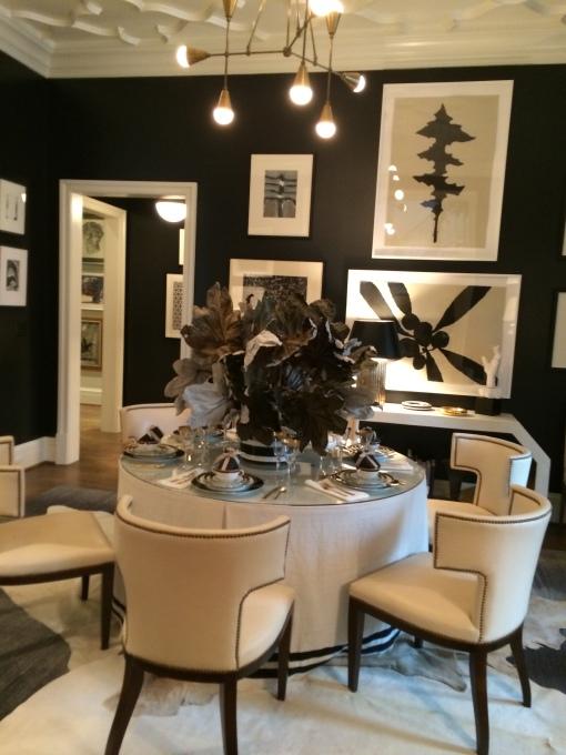 Blk & Wht Dining room - Beth Webb