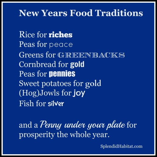 New Years Foods