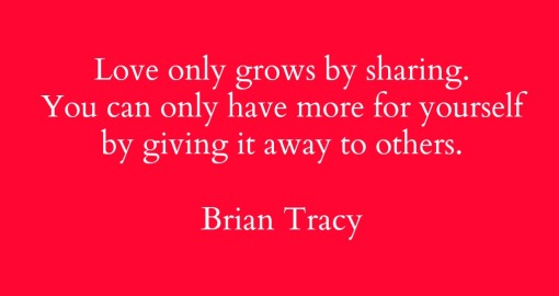 Quote - Love only grows