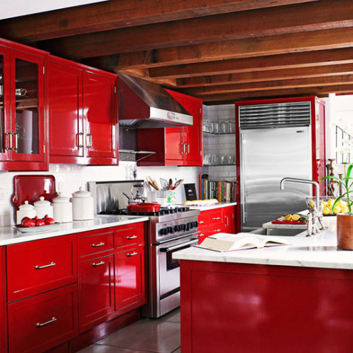 How To Decorate With Red For Every Room Of The House
