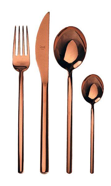 Add Some Copper Kitchen Accessories. Copper Silverware