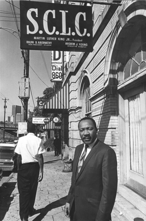 MLK at SNLC offices Atlanta