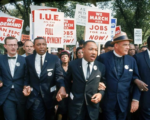 MLK march on Washington in 1963