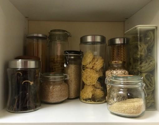 Pasta storage