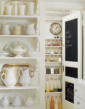 White pantry - Country Living