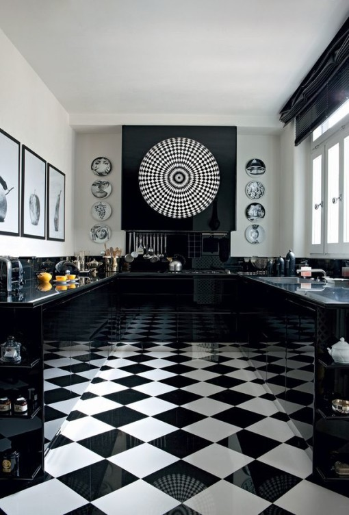 12 Black Is Beautiful Kitchens You Will Love