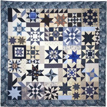 Cuesta Benberry Stars quilt