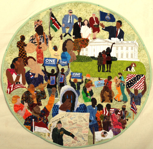 Denise Campbell - Kenya to Kansas quilt