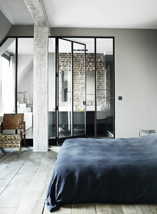 Industrial style is creating new urban chic homes splendid habitat interi - Colocation loft paris ...